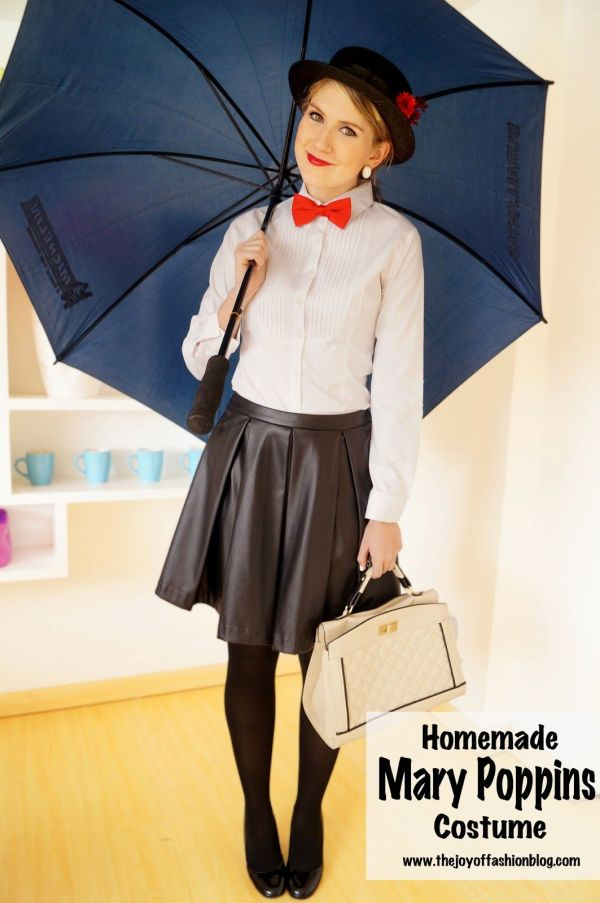 Homemade Mary Poppins Costume Crafts & Diy