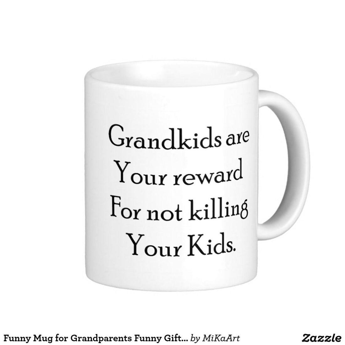 Funny mug for grandparents funny gift for grandma funny