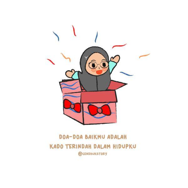 Koleksi 560  Gambar Animasi Orang Berdoa Islam HD Terbaru
