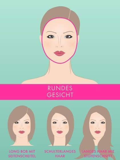 Der Richtige Haarschnitt Für Jede Gesichtsform Für Rundes Gesicht