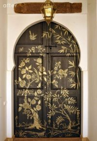 13 Creative Ideas To Paint Doors Using Stencils ...