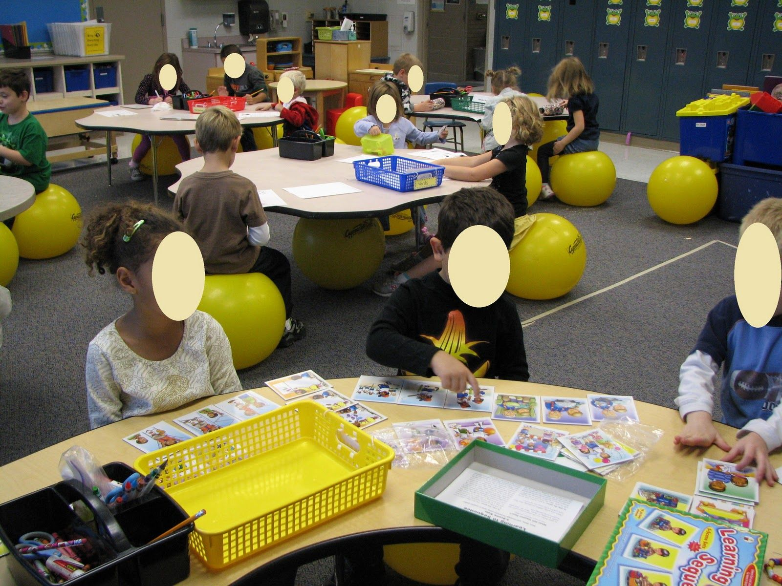 ball chairs for students potty special needs toddler stability in classroom and research to back