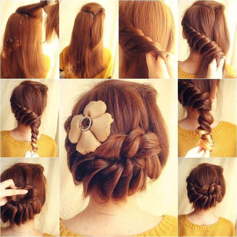 How To DIY Lovely Braided Hairstyle Lovelies Braided Hair And