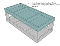 Ana White | Build a Saushas Washer/Dryer Pedestals | Free ...