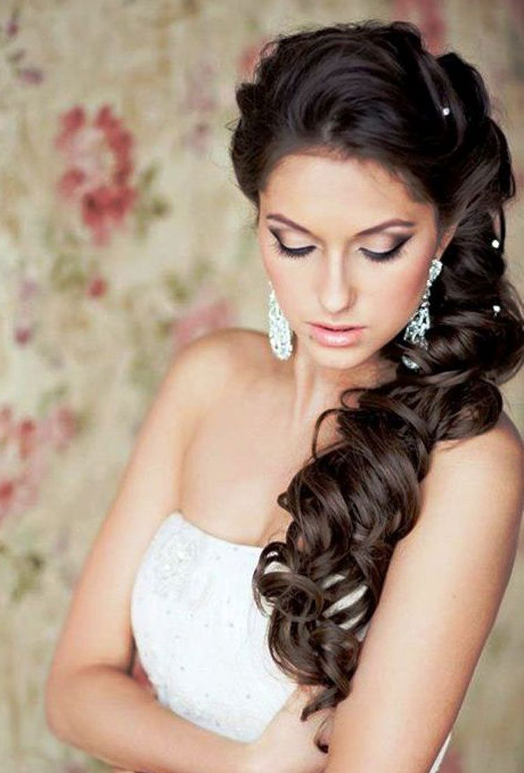 Wedding Hairstyles For Long Hair Hairstyles For Brides Wedding