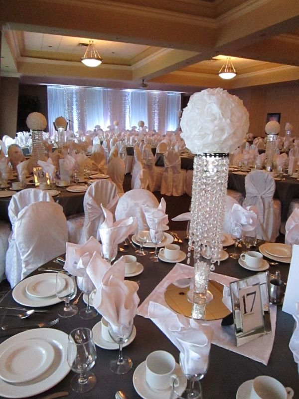 Bling Wedding Decorations On A Budget Imgurl