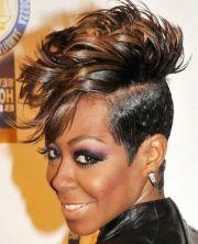 glamorous hair design african