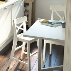 Ikea Junior Desk Chair Prima Pappa High Ingolf White Chairs The O 39jays And Dinner