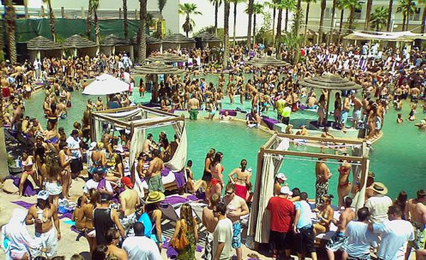 REHAB Pool Party Hard Rock Hotel Las Vegas