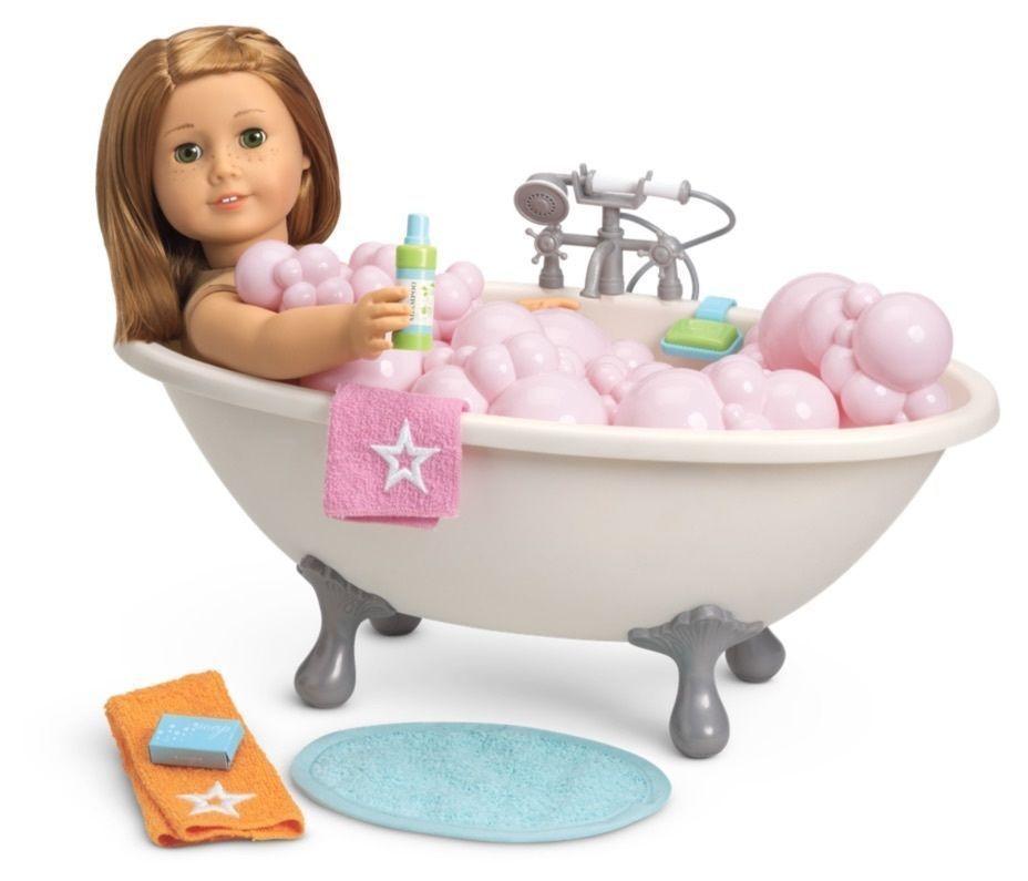 """American Girl Myag Bubble Bathtub For 18"""" Dolls Bath"""