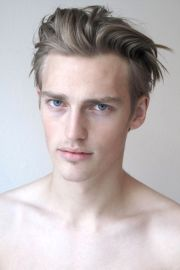 mens hair model victor nylander