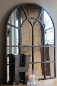 New steel window frame mirror | Window frames, Frame ...