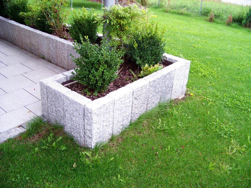 L Steine Garten L Steine Schwarz Anthrazit 60 40 40 Cm 1 Sorte Ebay