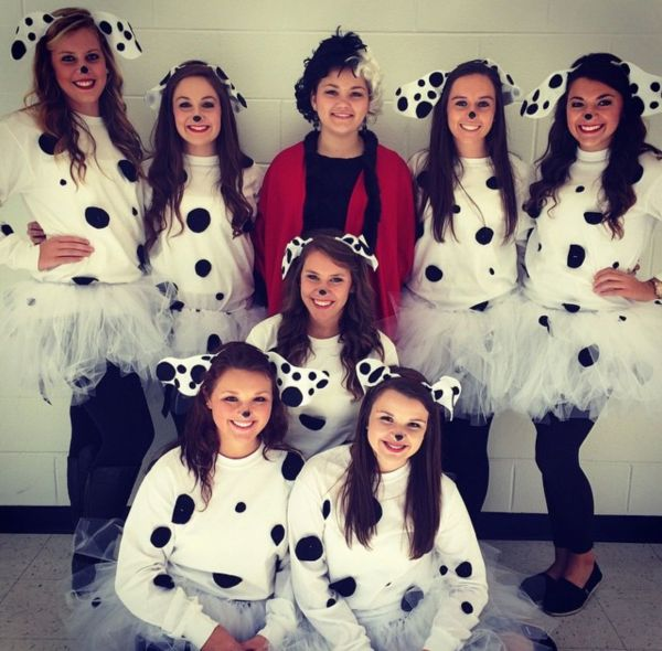 Diy 101 Dalmatians Spirit Week Halloween Costume #spiritweek #costume Pins