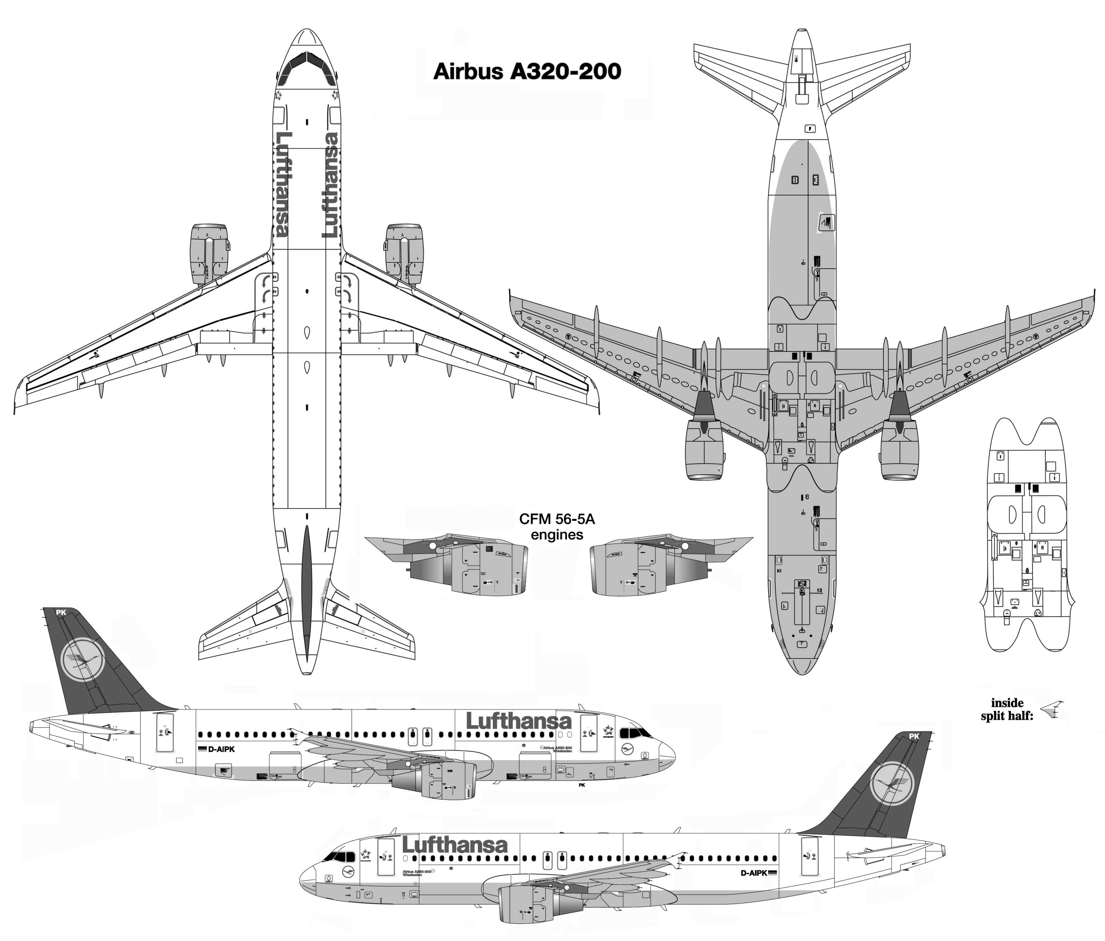 Airbus A320 200 3 536 3 012 Pixels