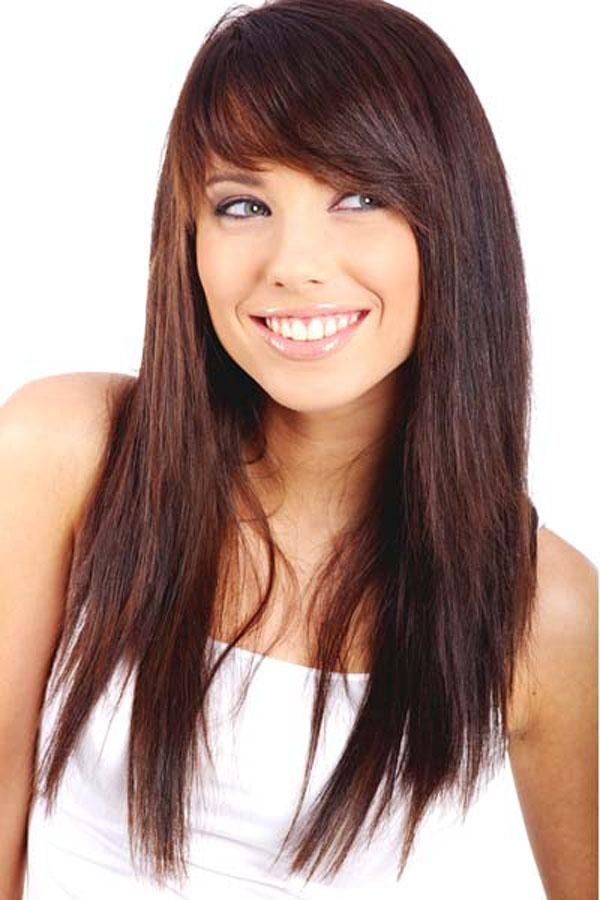 Long Hairstyles For Women With Round Faces Have A Good Hair Day