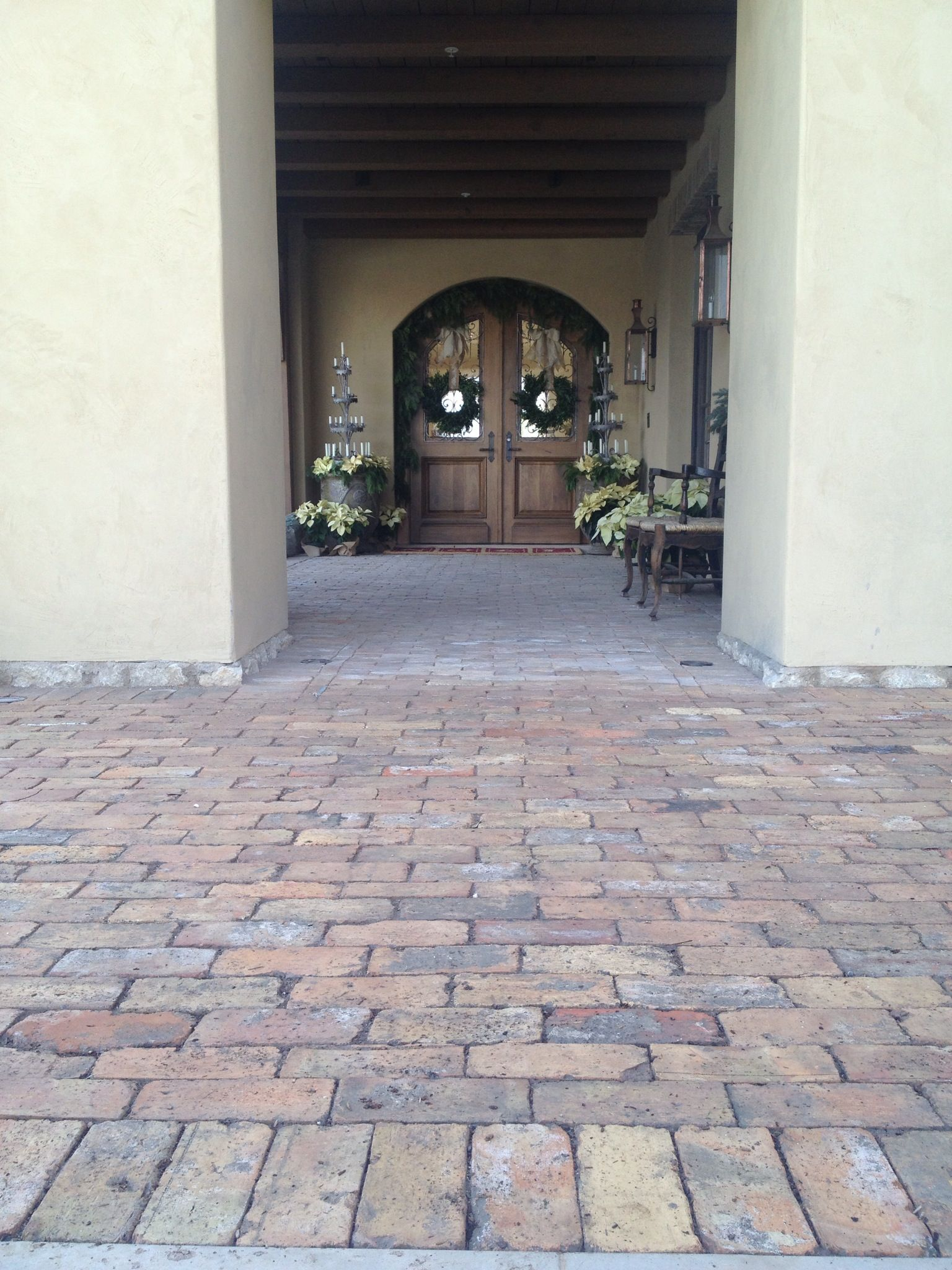 Reclaimed Old Chicago brick paver entry  Hardscape  Pinterest  Chicago and Bricks