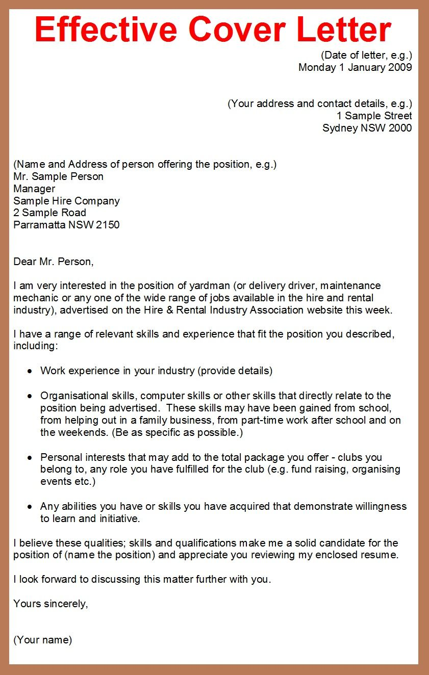 How To Write Good Cover Letter Arxiusarquitectura