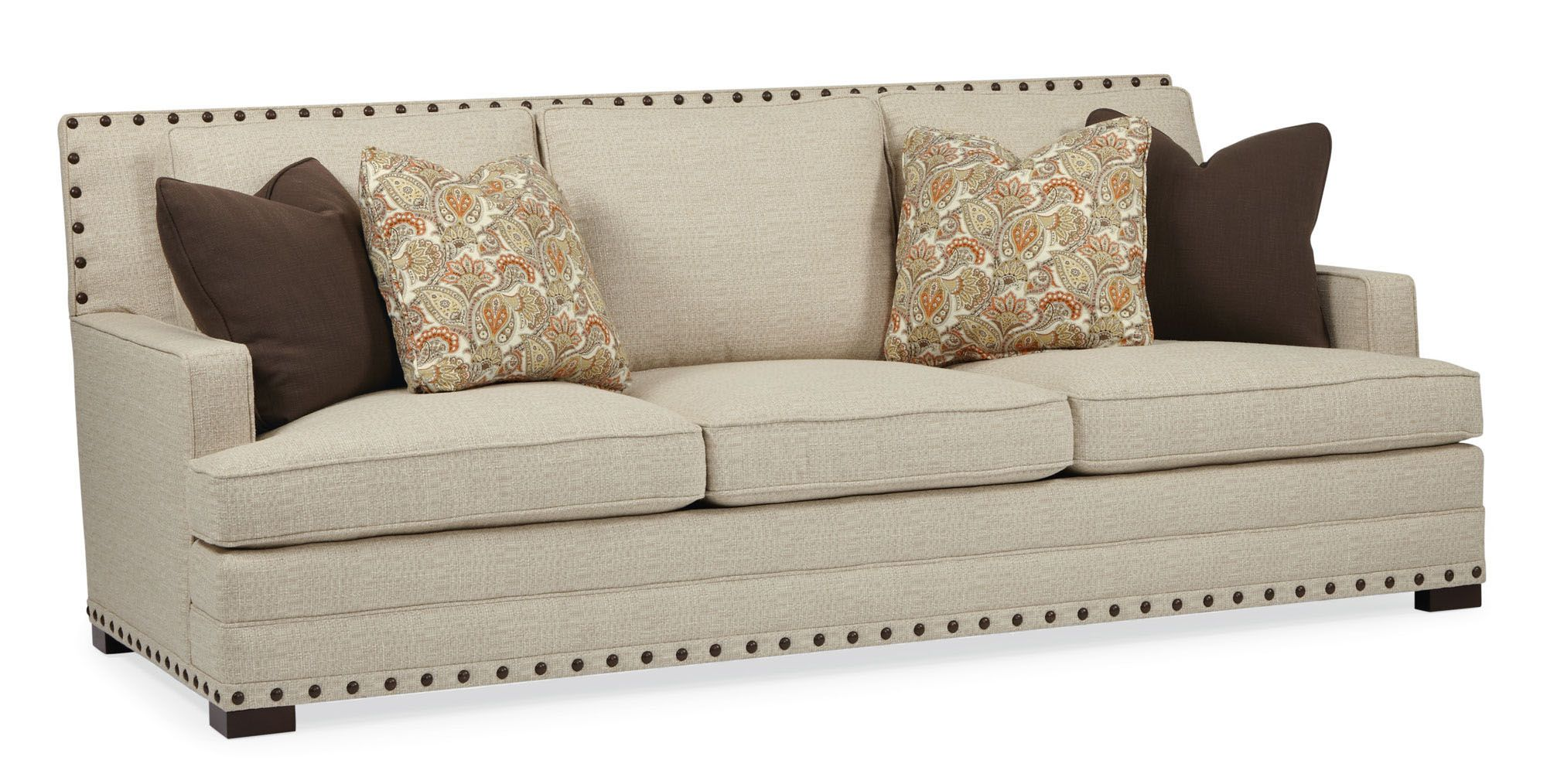 bernhardt sofa leather and fabric thomasville bridges 2 0 table cantor quick ship