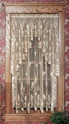 Windsor Lace Curtains Love Lace On The Windows Home Decor