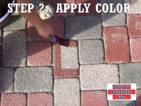 Paver Color Change - Masonry Cosmetics | brick Staining ...
