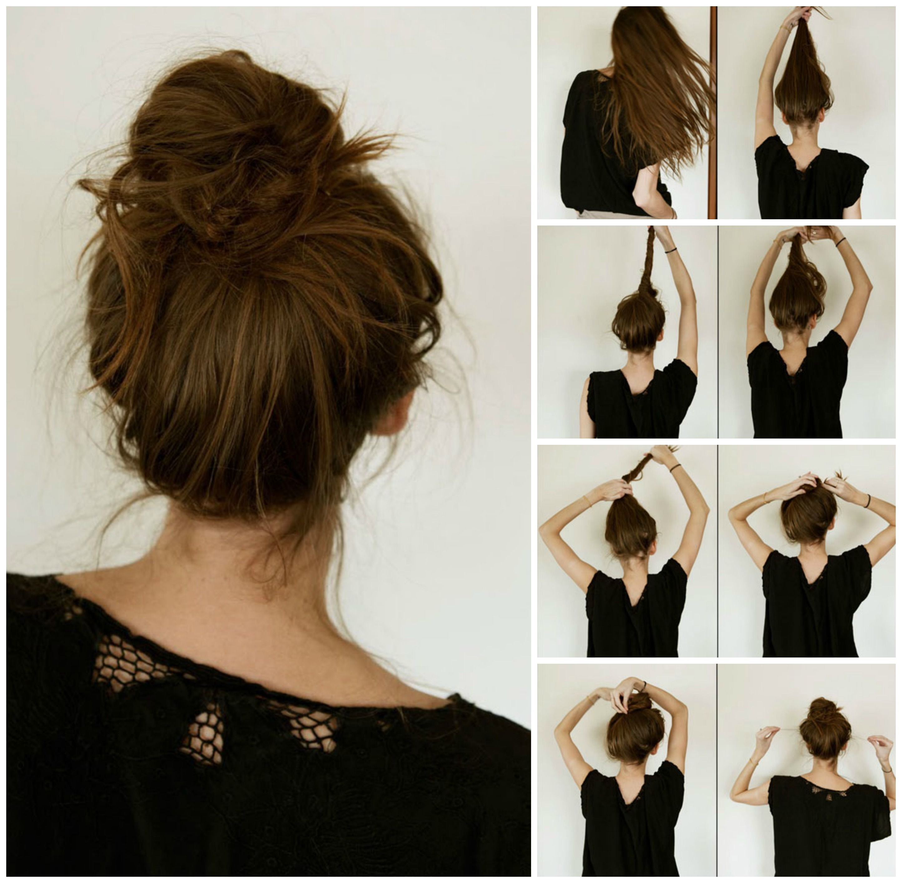 Foto Her Beauty Hairstyle Pinterest Steps? 5 And Step By