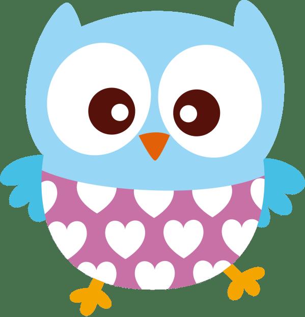 Corujas - Bb 0090 Lechuzas Owl Clip Art And Free Printable