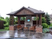 Pool Sheds And Cabanas Oakville by Shademaster Landscaping