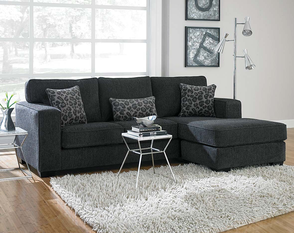 dark gray sofa cheap sofas online uk this sectional is covered in a soft