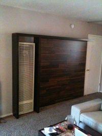 IKEA Hackers: Wall Heater Cover/Bookshelves | DIY: Floor ...
