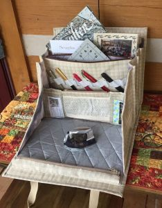 This elegant bag will carry and organize all your sewing quilting or any other craft also best ideas about  pattern language on pinterest american girl rh uk
