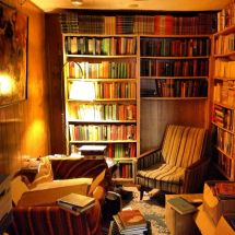 Cozy Reading Room with Books