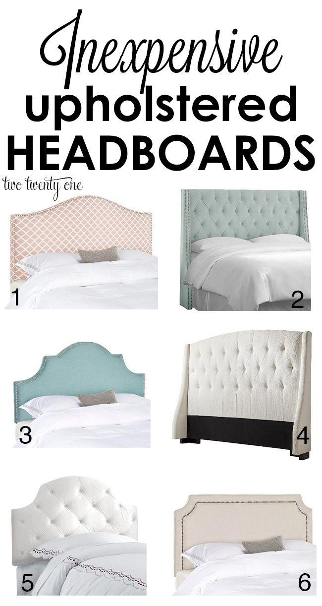 Best 25 Upholstered Headboard Queen Ideas On Pinterest