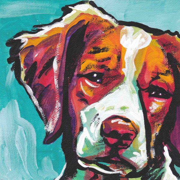 Dog Portrait Pop Art Paintings