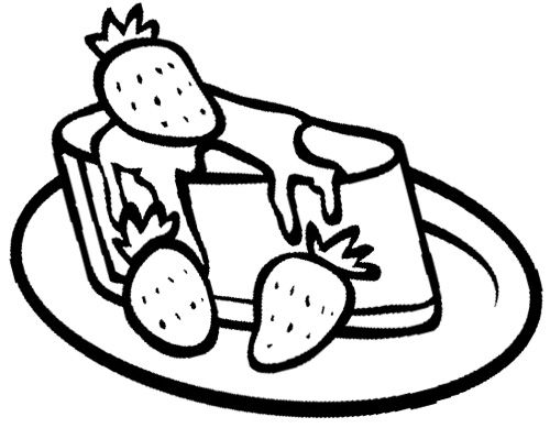 Grilled Cheese Coloring Page