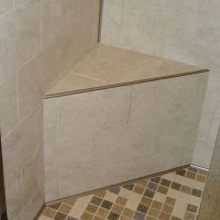 Schluter Kerdi-Shower-SB 16 in. x 16 in. x 20 in. Triangle ...