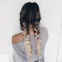 Long Braided Hair Tumblr