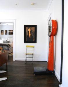 Alison  derek  atlanta home in shades of black also an white interiors living room rh pinterest
