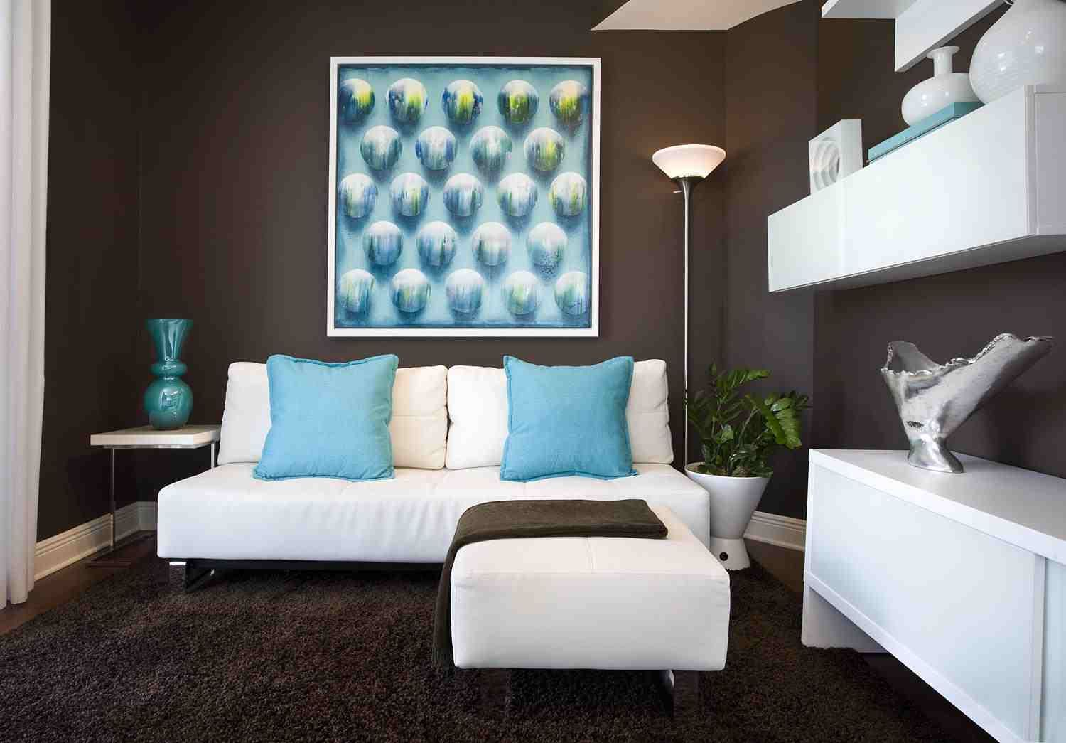 Turquoise And Brown Room Decorations