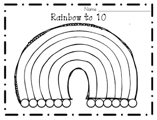 The Littlest Scholars: Ways to Make 5 and 10..Rainbows of