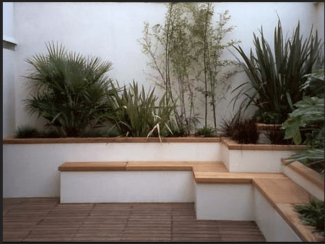Rendered White Garden Wall Ideas How PistonHeads Garden