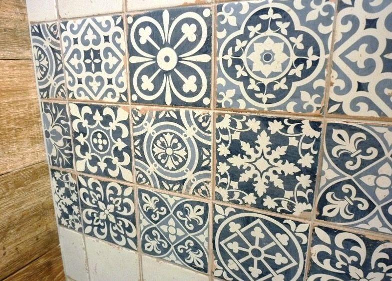 Sydney Patterned Tiles Encaustic look Artisan Floor Tile