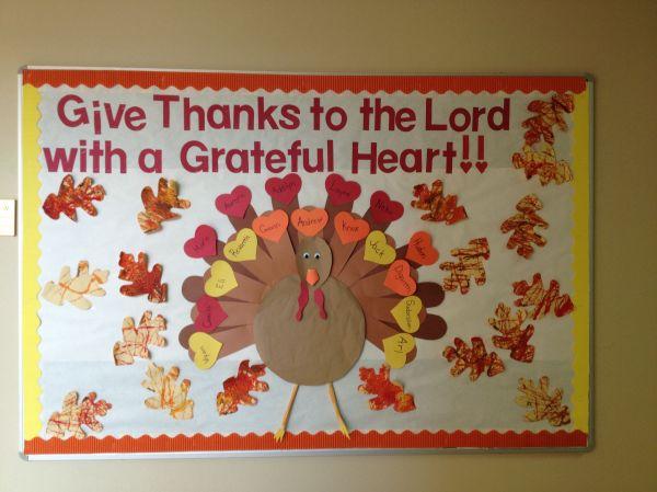 Thanksgiving Church Bulletin Boards Religious Vtwctr