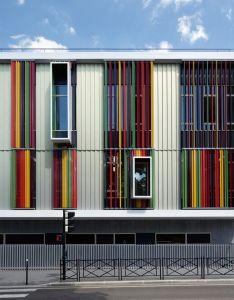 Arch also galeria de  cla cite des loisirs   facades and rh za pinterest