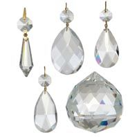 Chandelier Parts Crystals Lamp Prisms And