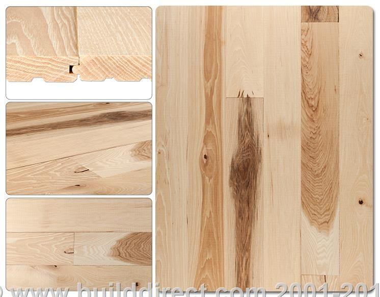 Hardwood  Unfinished Hickory  Hickory flooring Flooring