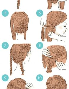 Different hairstyles and how tos  japanese beauty website kamimado created these wonderful colorful instructions for every hairstyle also facilisimos peinados foto the girl pinterest hair style rh