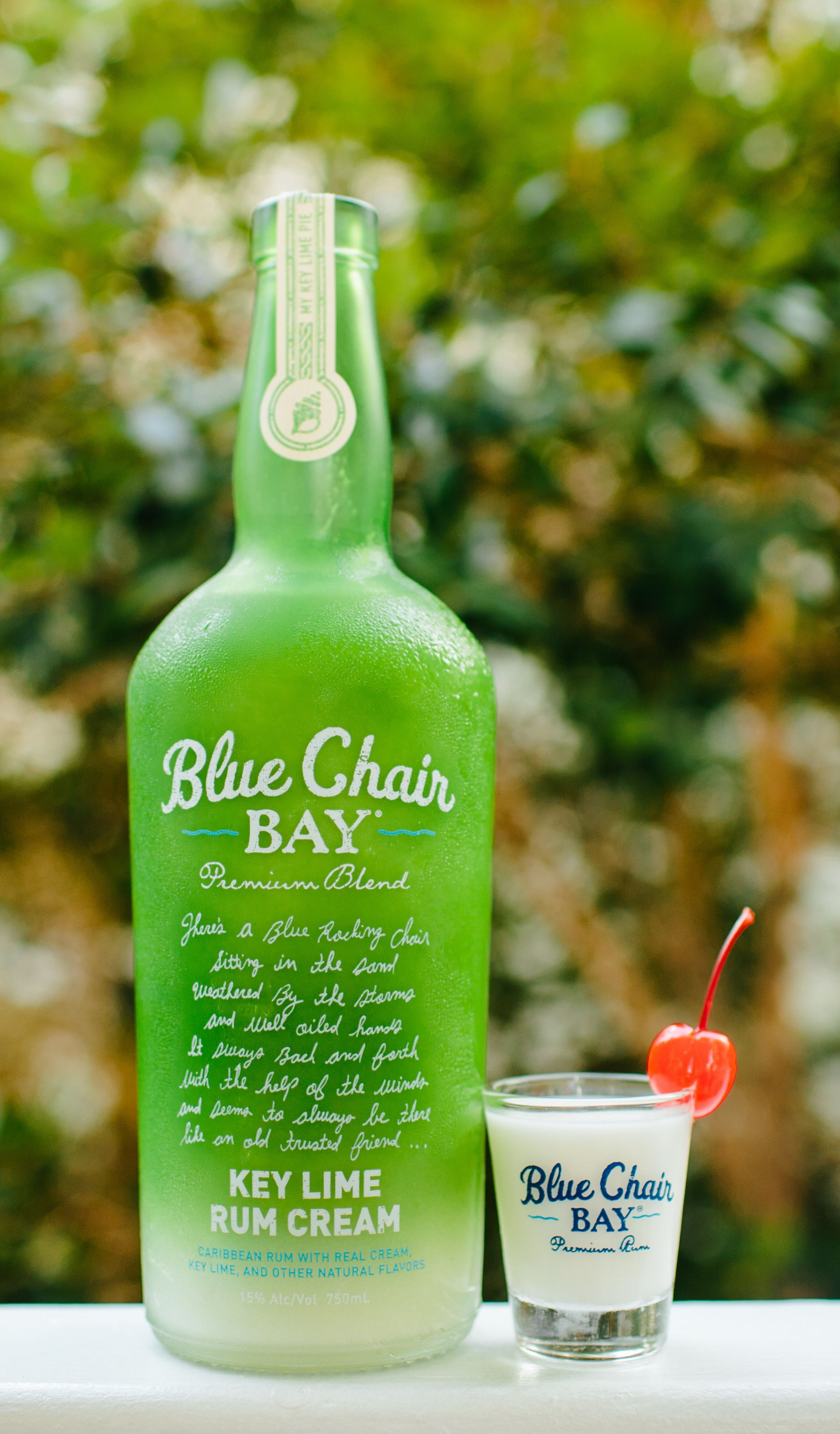 Blue Chair Bay Coconut Rum Tootsie Roll Shooter 5 Oz Blue Chair Bay Key Lime Rum