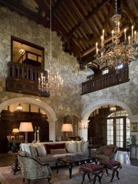Color Roundup: Rustic Stone and Brick Used in Interior ...