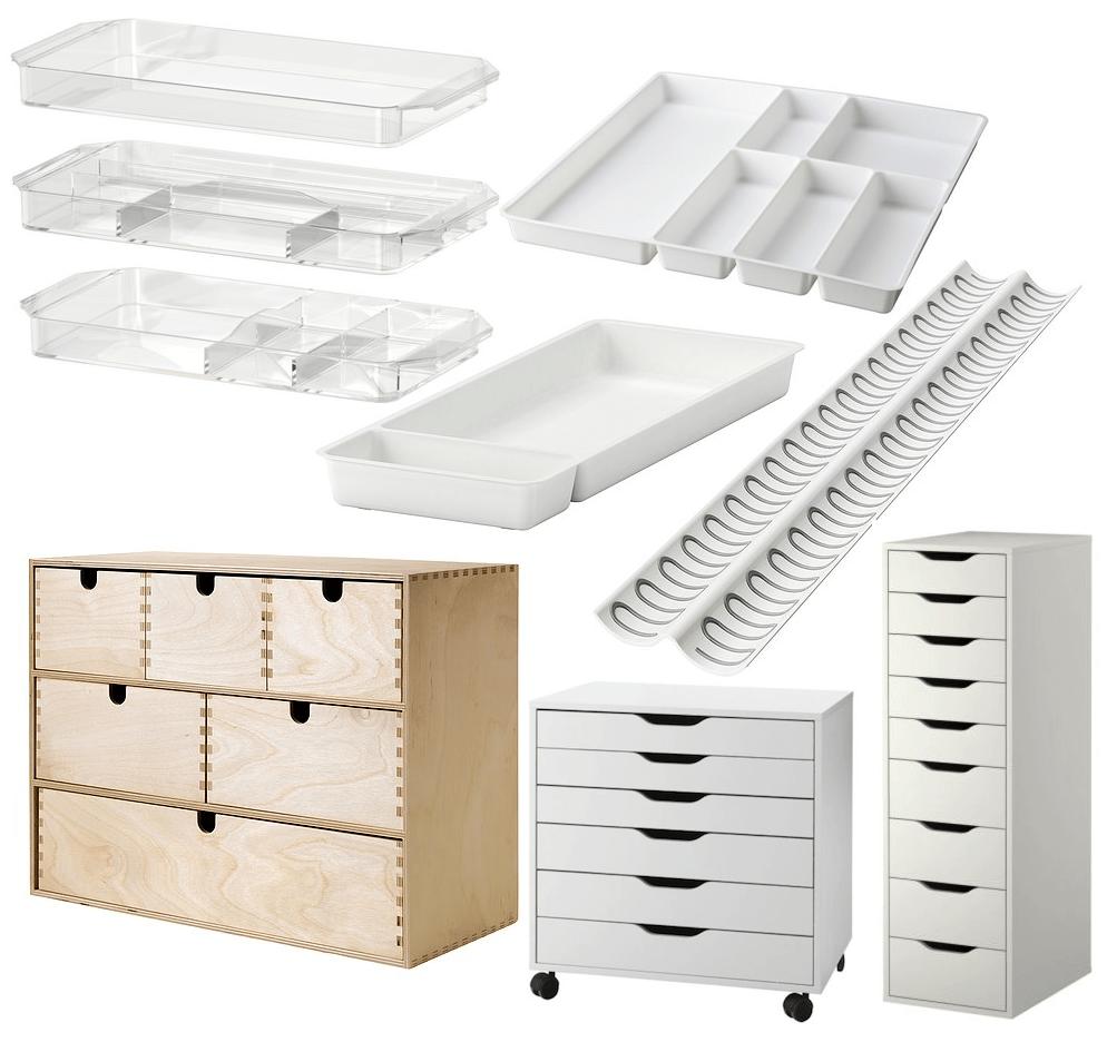 Makeup Storage From IKEA mikhilacom  Makeup storage Storage and Makeup